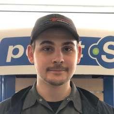 Brandon Savignac, Technicien Pneus Division Auto Camionnette
