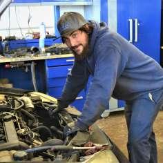 Jean-Philippe Tremblay, Mechanic