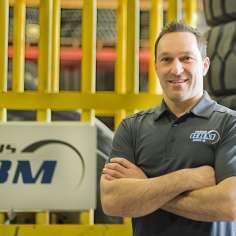 Philippe Desrosiers, Directeur des ventes groupe Pneus GBM